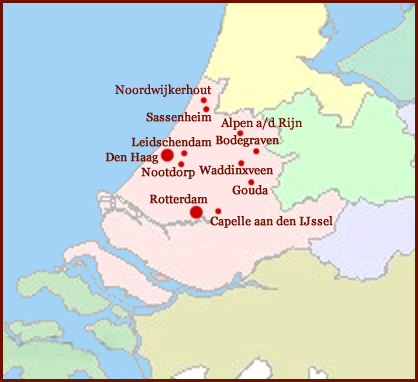 Het Handlezen Netwerk in Zuid-Holland!